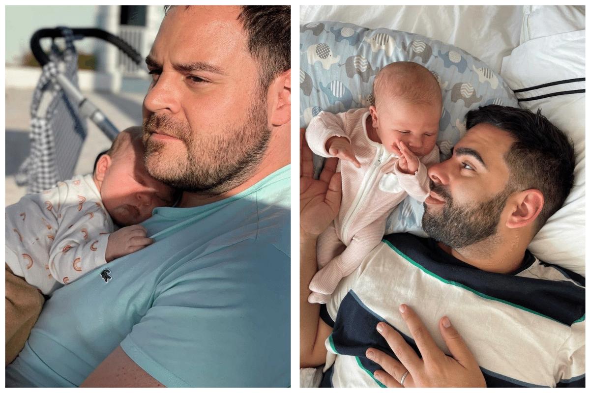 Alo & Javi with baby Maria