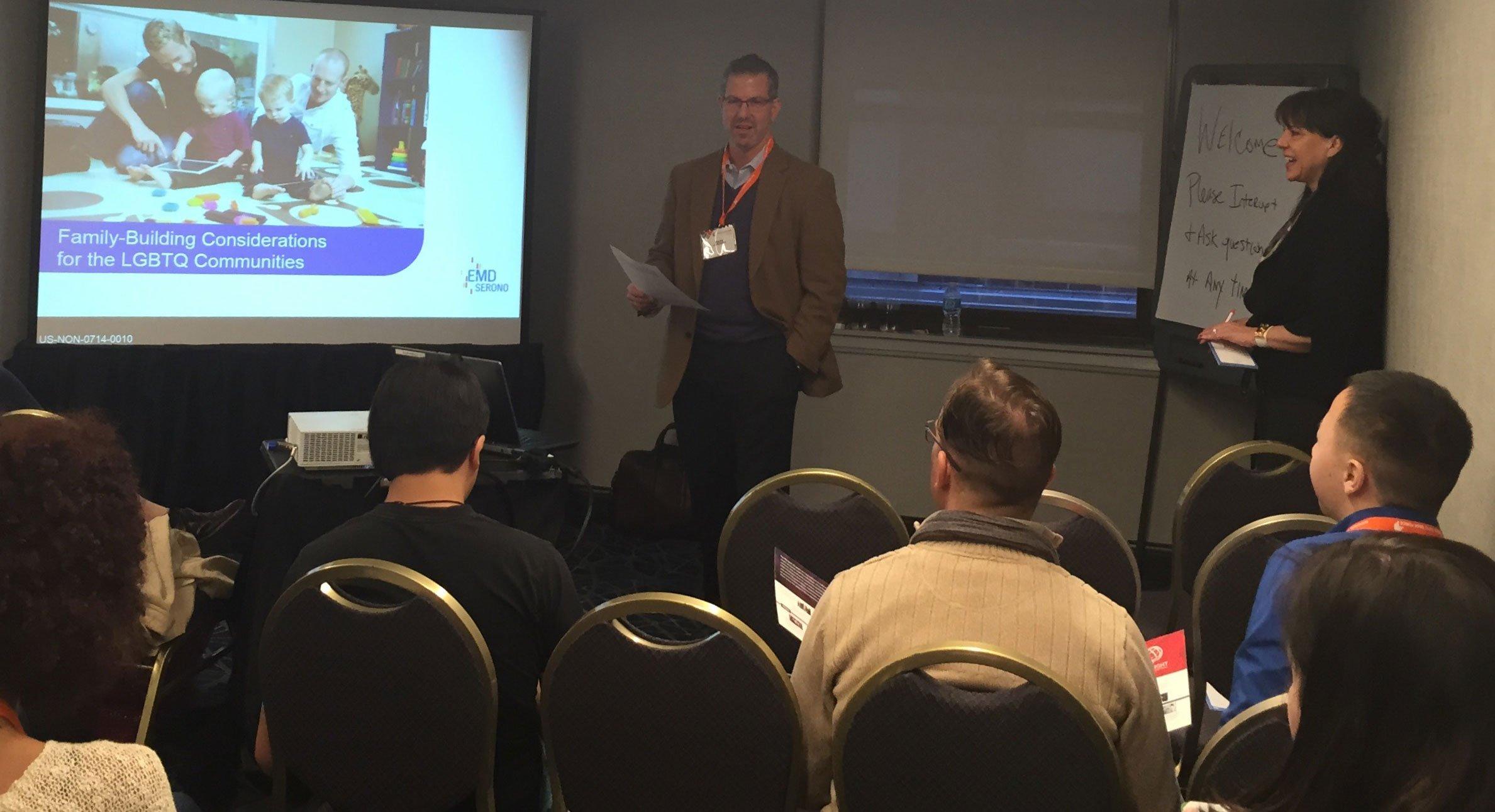 Dr. Mark Leondires Speaks at the Conference