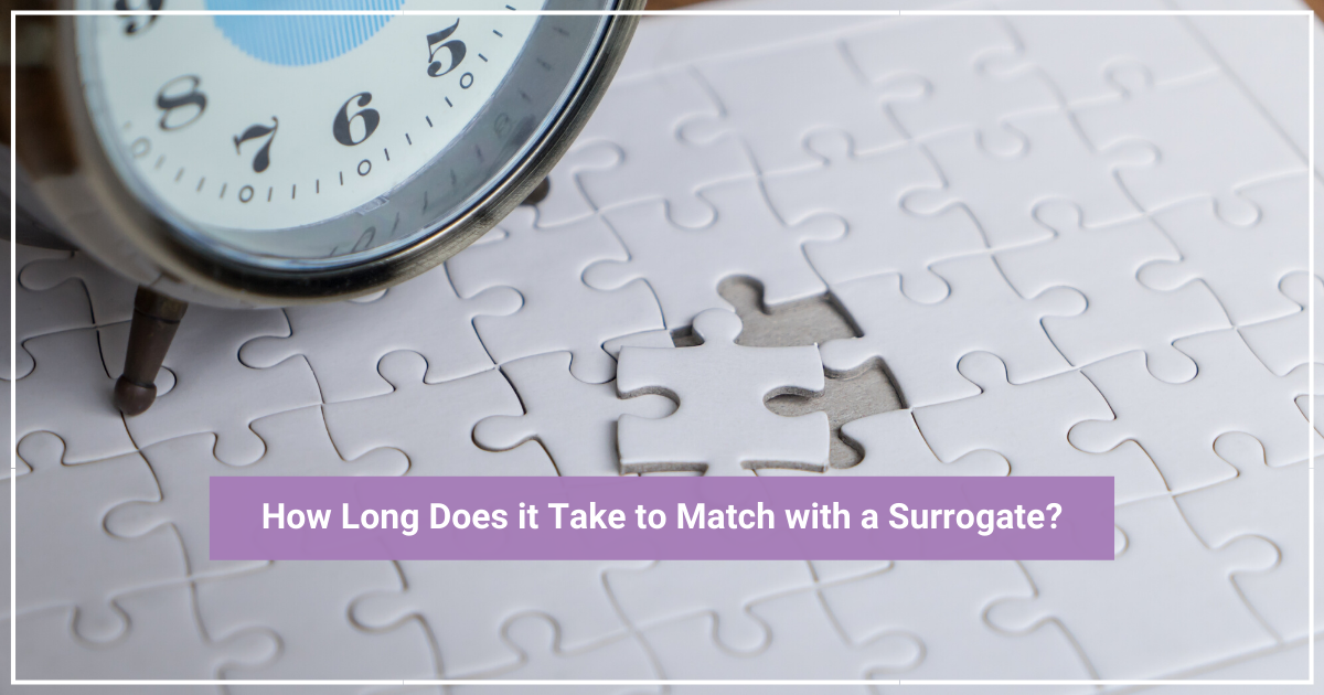 how long does it take to match with surrogate?