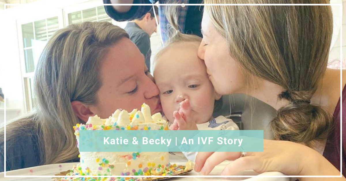 Katie and Becky IVF journey