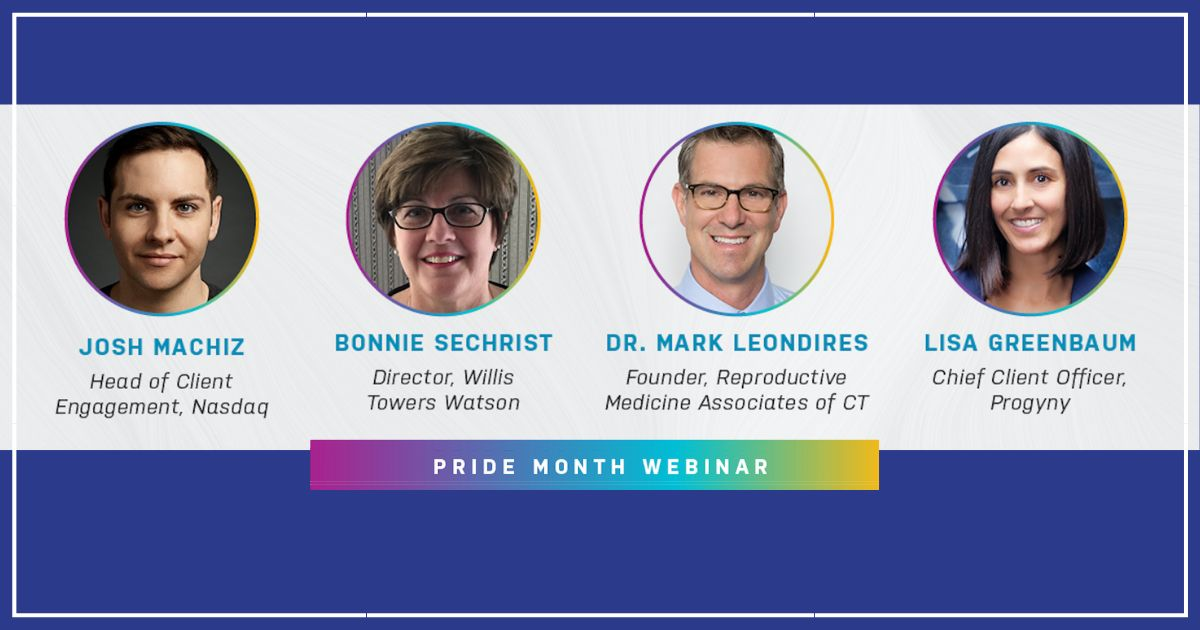 gay parents to be NASDAQ pride webinar